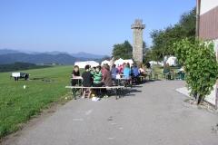 Jugendliche vorm Ferienlager Plattenberg
