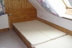 Matratzenbetten mit Hygienebezug